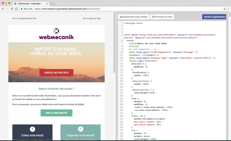 email Publisher com possibilidade de editar e-mails HTML
