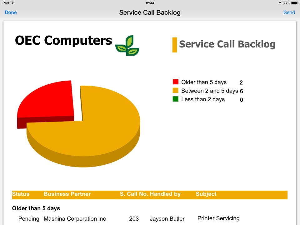 SAP Business One-screenshot-1