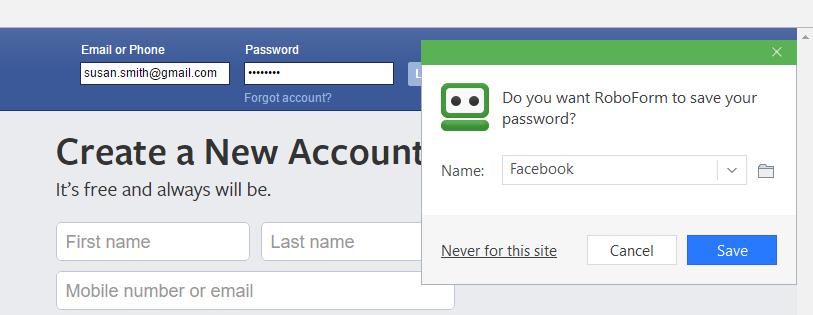 RoboForm-screenshot-0