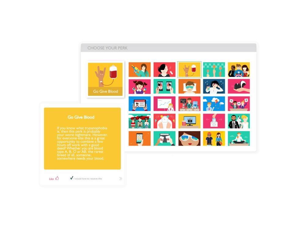 Workstars-Perks catalogue