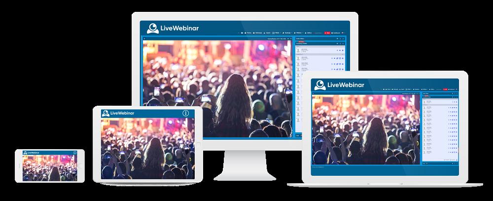 Avaliação LiveWebinar: O software de webinar mais avançado - Appvizer
