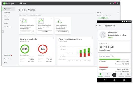 Avaliação Quickbooks ZeroPaper: Gestão financeira para micro e pequenas empresas - appvizer