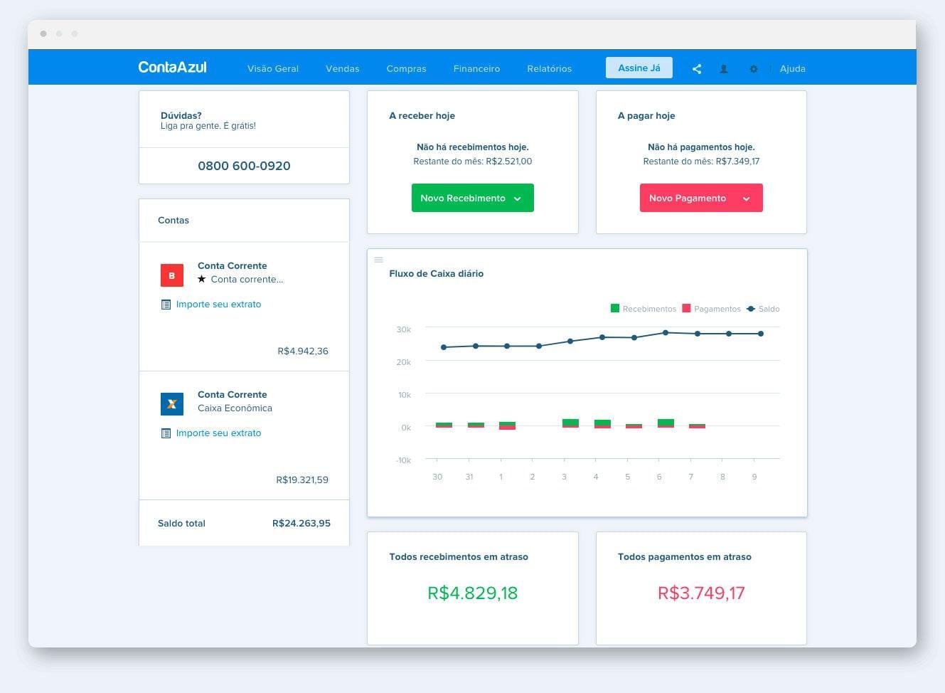Avaliação Conta Azul: Uma plataforma completa para o seu negócio - Appvizer
