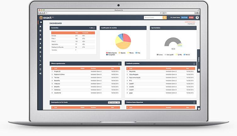 Avaliação Exact Sales: Software de vendas B2B para quem quer crescer - Appvizer
