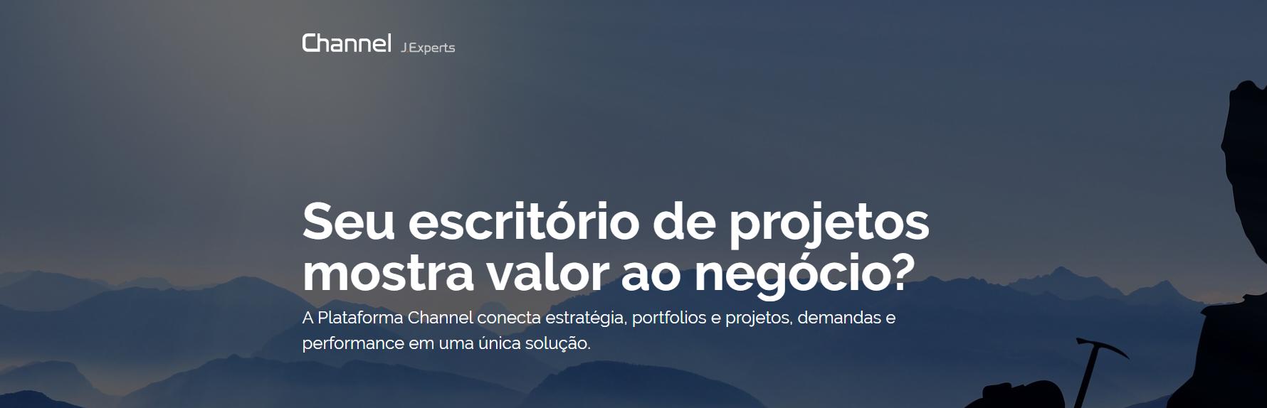 Avaliação JExperts PPM: Plataforma Channel - Estrategia, portfolios e projetos - Appvizer