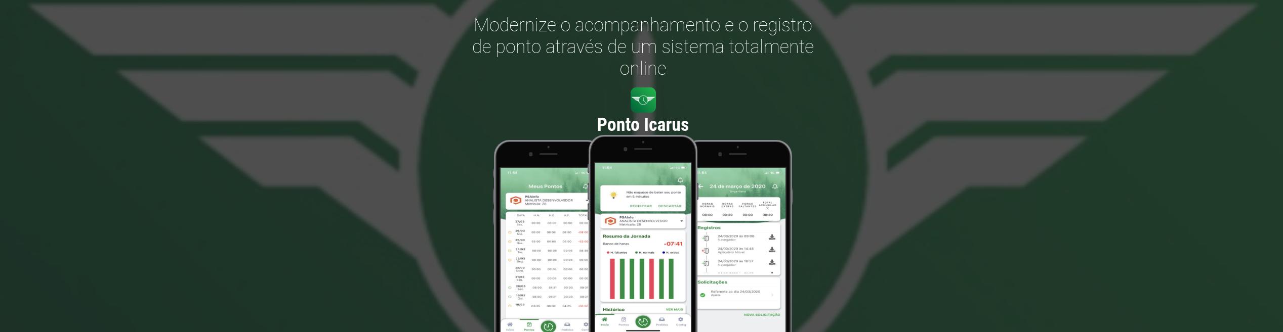 Avaliação Ponto Icarus: Controle de Ponto Online - Appvizer