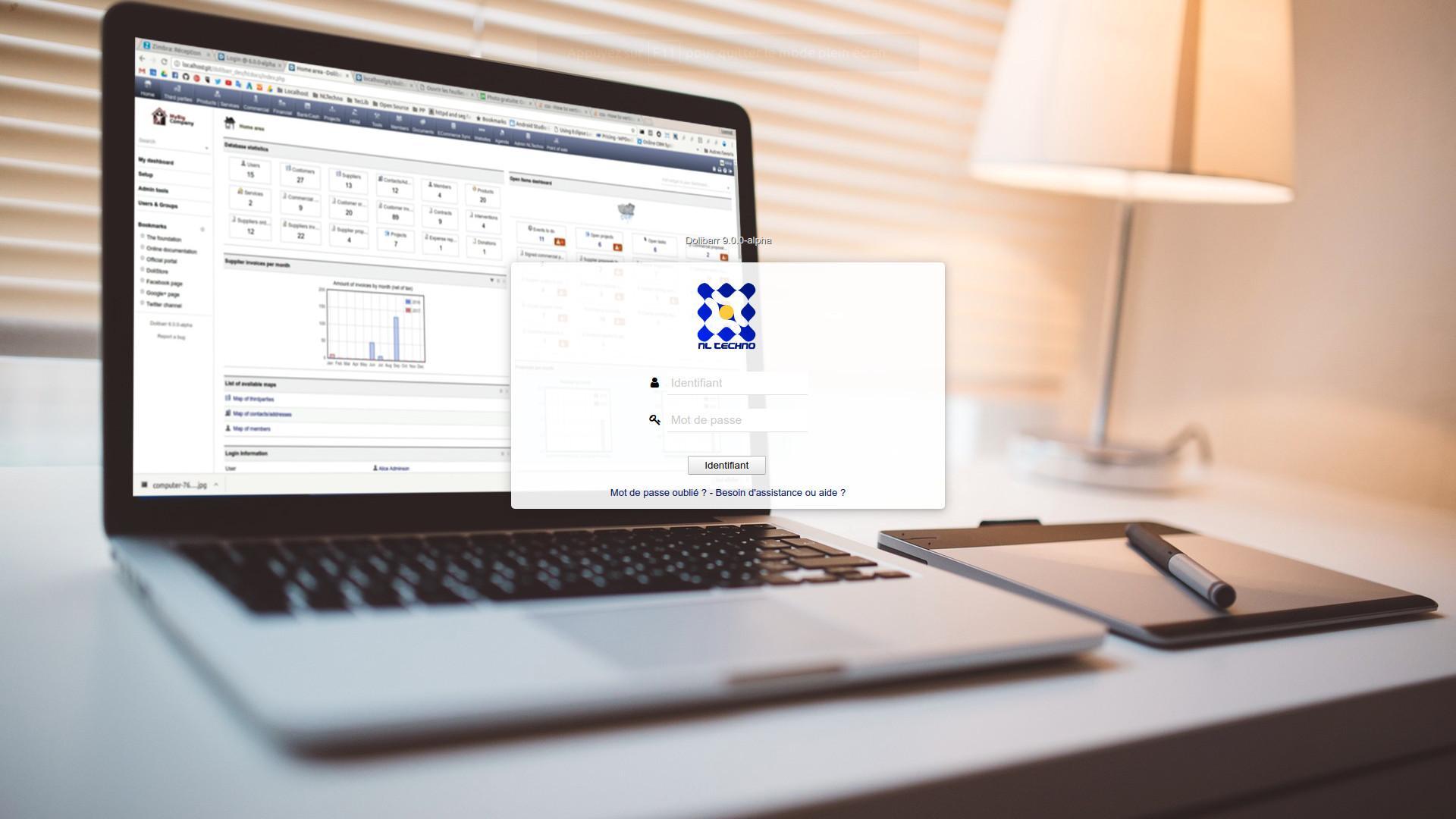 Avaliação Dolibarr ERP CRM: ERP et CRM Open Source (100% na nuvem ou local) - appvizer