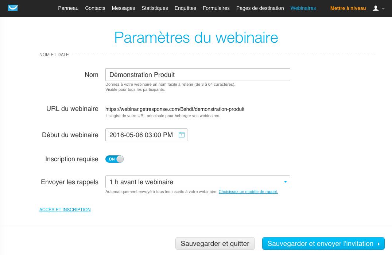GetResponse: Conhecimentos básicos (tutoriais, demos), webinars Alojamento, Gestão de Campanha