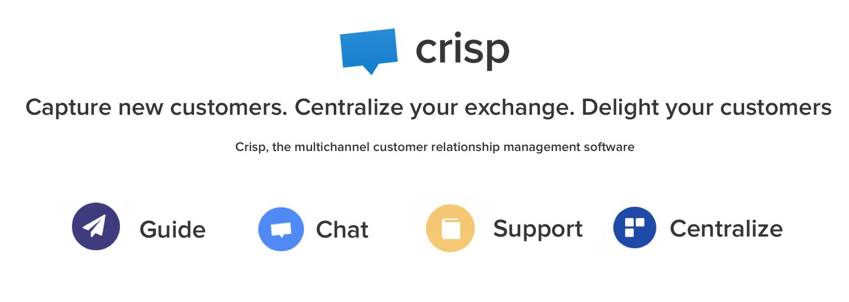 Avaliação Crisp: plataforma de conversação para PMEs - Appvizer