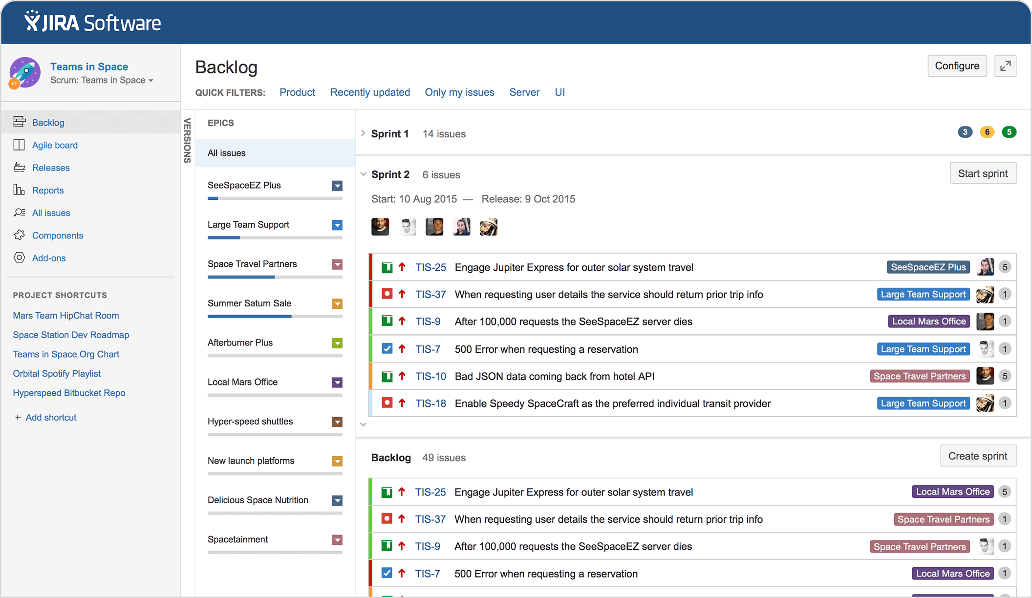 ferramenta de gerenciamento de projeto-jira-software-plan